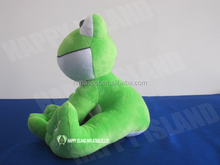 HI CE Fancy high quality famous China plush green frog plush toy frog