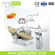 CE Dental Hygienist Chairs with LED Sensor Light