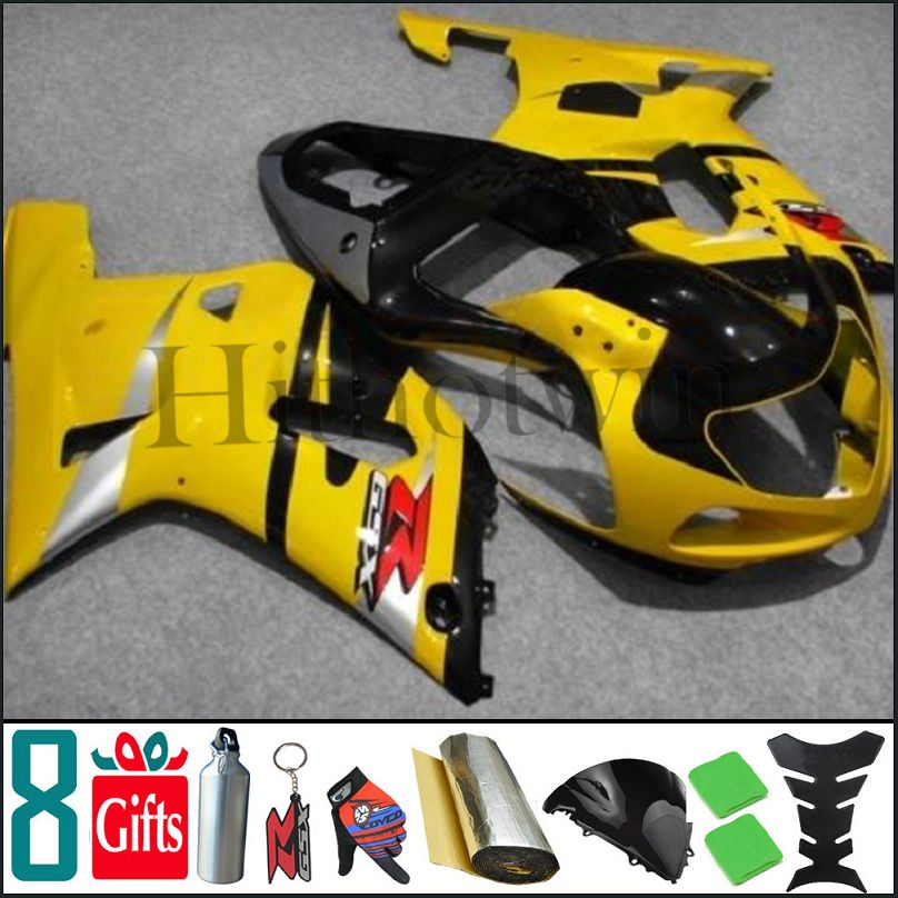 <strong>K1</strong> 2001 2002 2003 GSXR600 2002 750 2003 yellow black Body Kit Fairing For Suzuki GSXR600 03 GSXR GSX R 600 750 01 02 <strong>K1</strong>