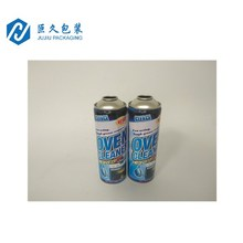 Tinplate Aerosol Tin can with CMYK Printing Automatic Spray can