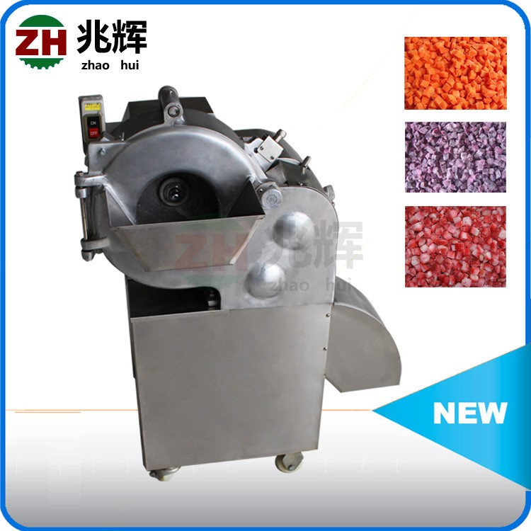 Restaurant Multifunction potato cube cutter/vegetable slice stick dice cutting machine
