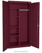 powder coated hot sale metal Design Closet Wardrobe