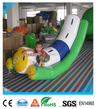 HOT inflatable water game combo,inflatable floating water toys,kid and adult play used inflatable water jet boat for sale