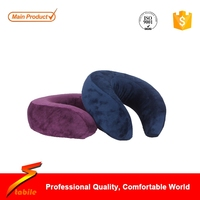 STABILE Custom China manufacturer high quality wholesale bamboo pillows U shape