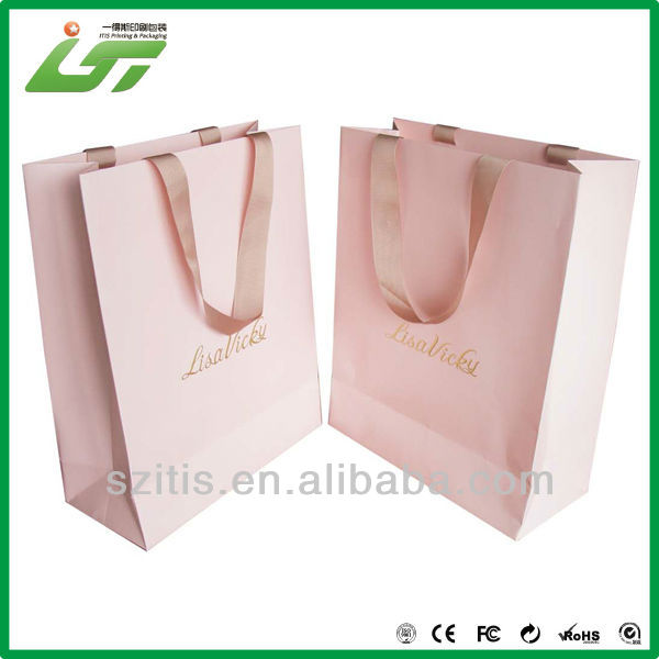Wholesale alibaba fancy paper gift bag with handles,christmas paper bag for gift,customized paper gift bag