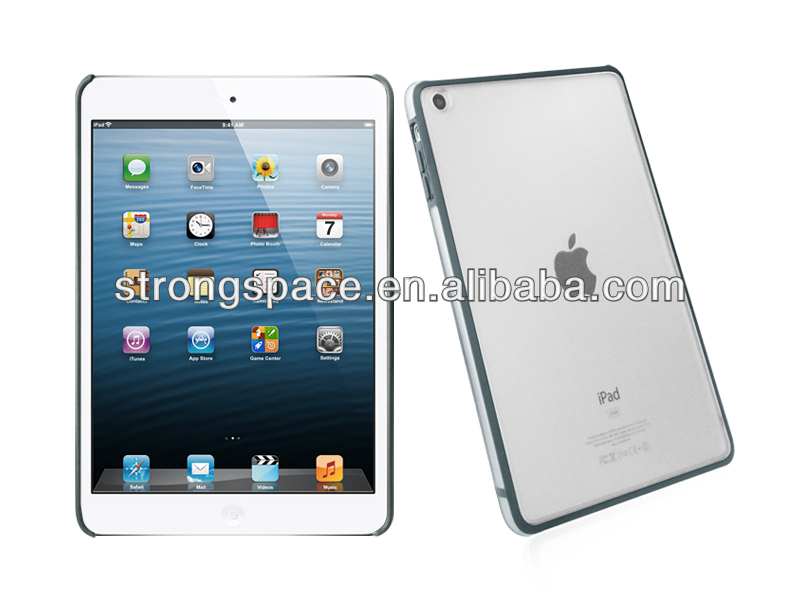 hard cases for ipad mini frosted PC+customize color TPU