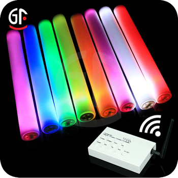 2018 New Products Flashing LED Remote Control Foam Stick