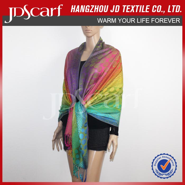 Quality Guarantee New Fashioned Soft Touch Party Wear Shawl