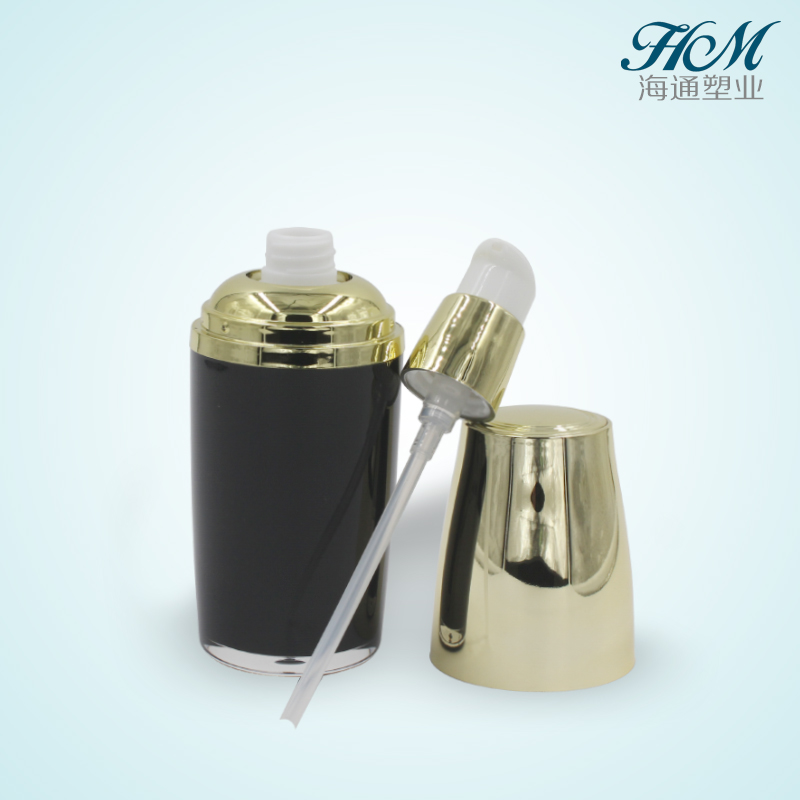 50ml 100ml 130ml Cylinder Acrylic Cosmetics Pump Lotion Bottle Plastic Cosmetic Container