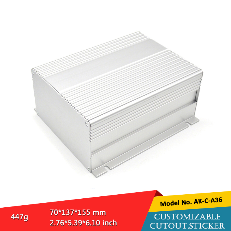 new detachable aluminum electronic wall mounted enclosure aluminum electronic component enclosure