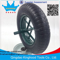 3.50-8 Pneumatic Wheel Metal Rim 370mm 2PR Tire