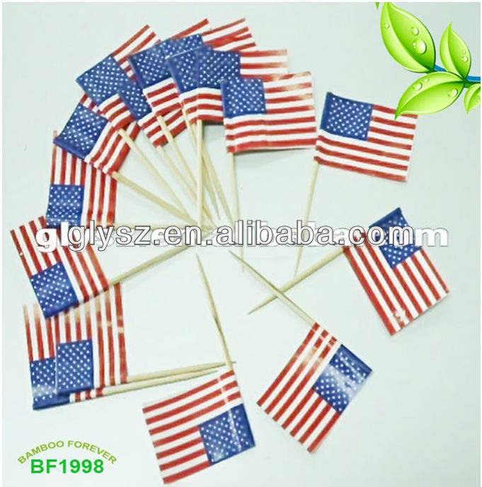 flag sticks flag toothpicks cocktail sticks cocktail pickers flag picks