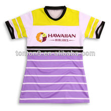Oem Sublimation T Shirt avec 100% Polyester