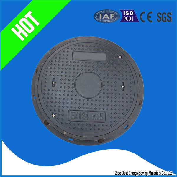 Round composite manhole cover for sale smc material