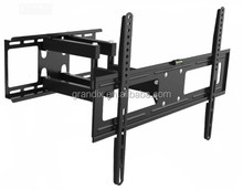 Dual arms 180 degrees swivel lcd tv wall mount
