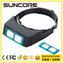 SUNCORE 81007-B Hot Sell Head Optivisor Magnifying Glass