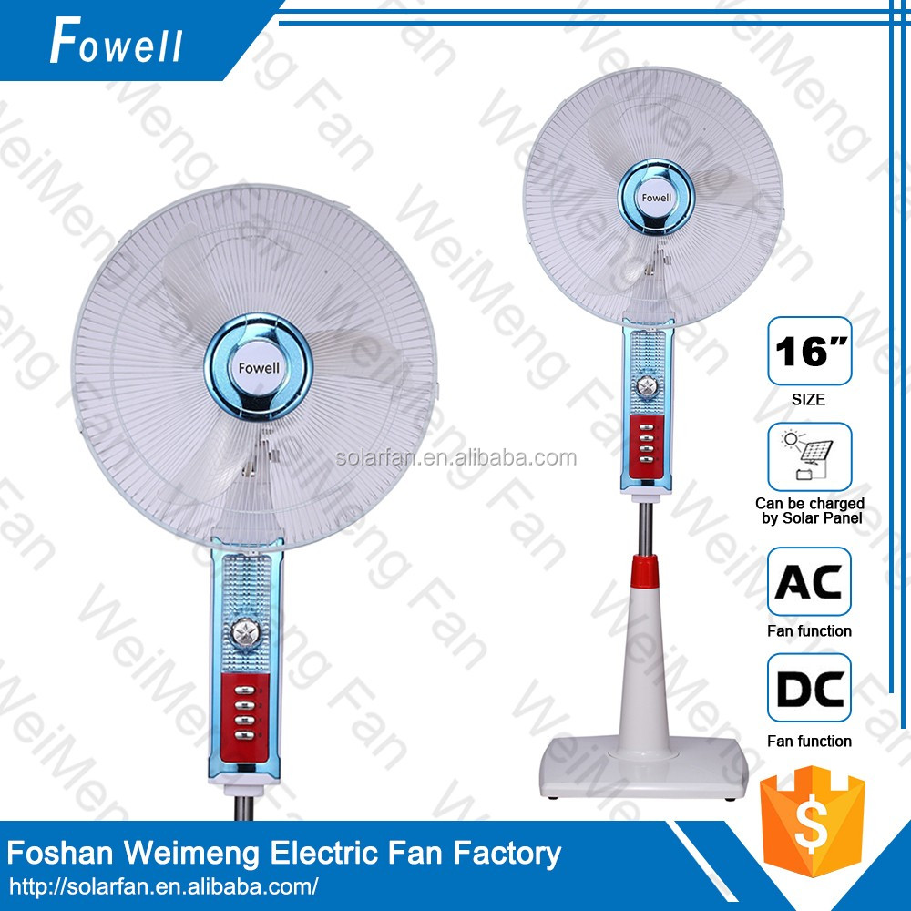 Home Appliance High Quality Solar Rechargeable Fan With Great Price