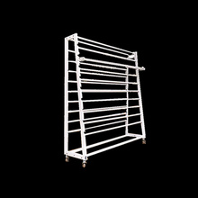 Factory wholesale price fabric <strong>shelf</strong> with cutter cloth rack roll fabric display <strong>shelves</strong>