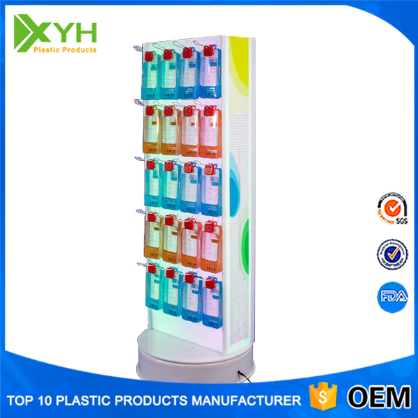New design retail store mobile phone acrylic display rack, PMMA display stand