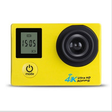 Factory price HDking K1 4k action camera helmet 1080p fhd sports camera underwater wifi fishing action camera be unique