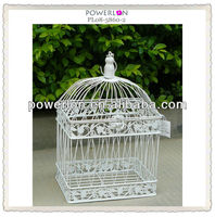 shabby chic antique metal bird cage