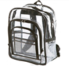 strong clear backpack wholesale, school student transparent pvc backpack