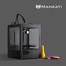 Mankati High Tech 3D Printer with Two Extruder 3d printer supplies