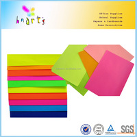 wholesale self adhesive color paper in sheets