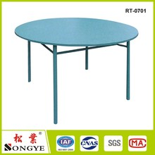 Plastic Folding round table used for banquet outdoor