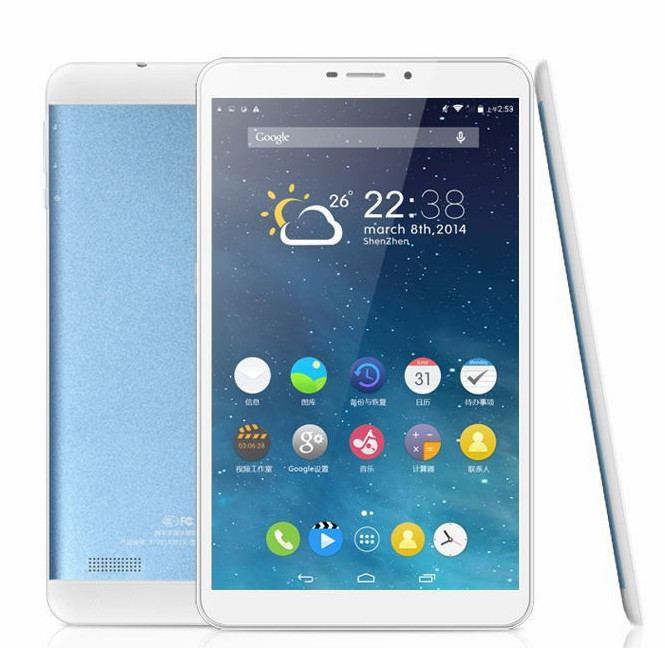 Octa core tablet with sim card slot / built-in gps 3g wifi tablet pc Lf-1295