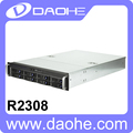 2U 8*2.5''/3.5'' HDD with 500W Power Supply and sliding kit Storage Server Case