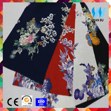 Wholesale fabric rayon challis supplier cheap price rayon polyester cotton t shirt rayon scarf