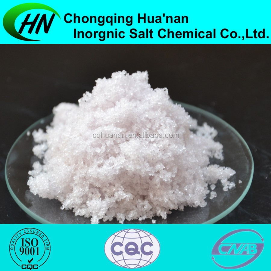 Plant Manufactured High Quality 98.0% Magnesium Nitrate Solubility 13446-18-9