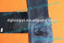 2012 Long Yi newest high fashion fabric denim jeans T/C fabric