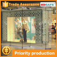 China brand interior folding glass door system with high quality