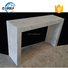 alibaba italian design white marble console table