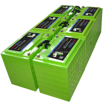 lifepo4 12v lithium battery 100ah for solar storage with built-in bms and 24v/48v 200ah li-ion batteries bank