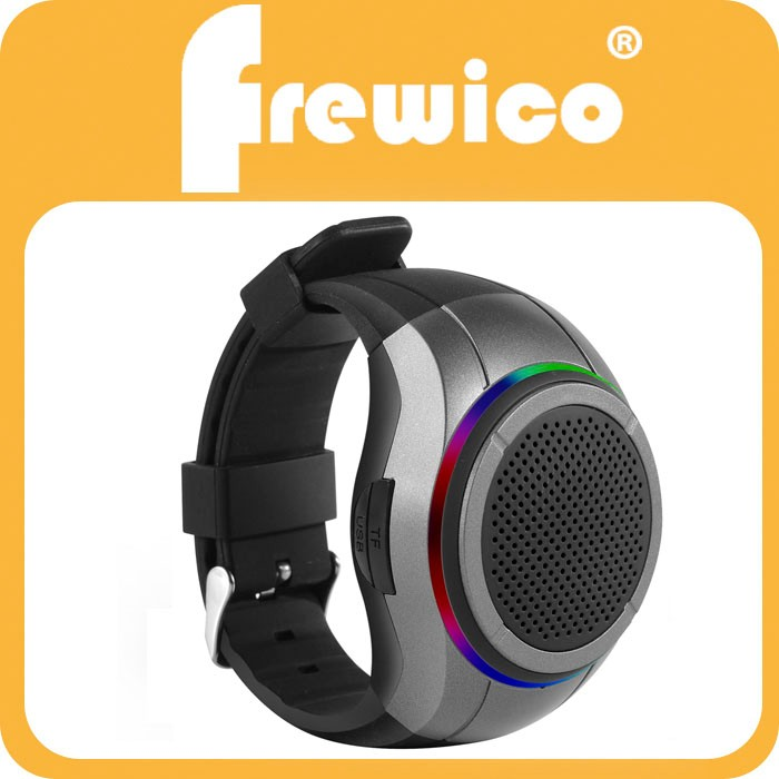 Wrist Watch Music Player, Bluetooth Wristband Speaker, MP3 Music Player + Hands-free Call + Self-timer