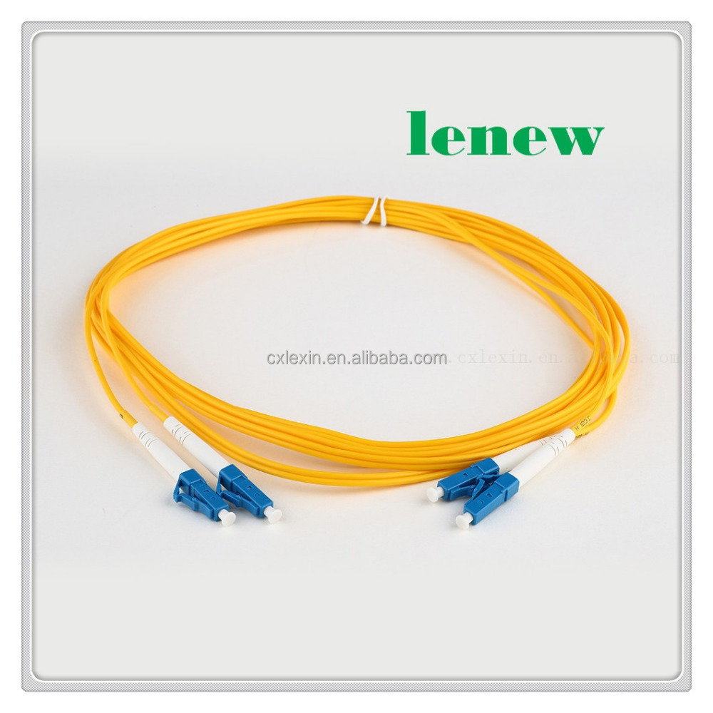 Factory wholesale jumper cable fiber optic patch cord lc pigtail taper