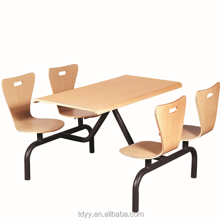 TDC-914/916 (Fast Food Units) Dining table and chair series