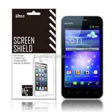 3H Hardness screen protector scratch resistant for Huawei honor u8860 oem/odm(High Clear)
