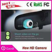 1080p car camcorder vehicle video recorder camcorder mini waterproof sport DVR with CE Rohs