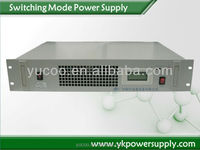 High efficiency single unit power supply rectifier, 220Vac to 48Vdc,30A