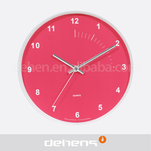DEHENG 10 inch plastic clock for promoption