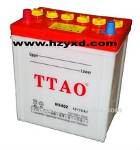 dry lead acid 40B19L car start battery 35ah