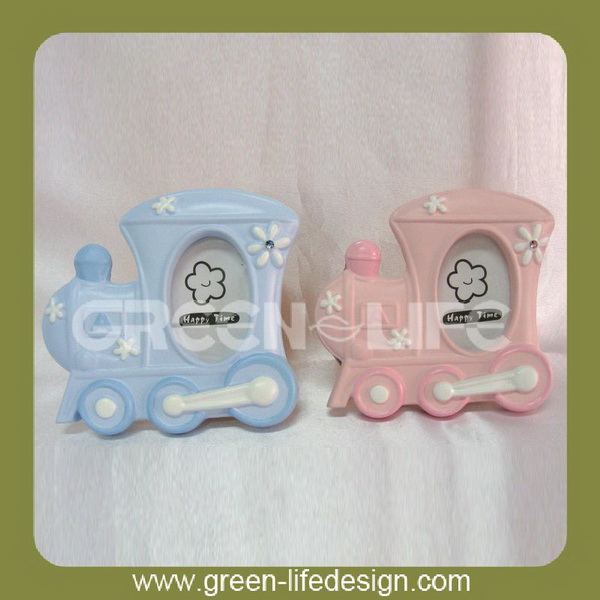 Resin baby beautiful photo frame picture