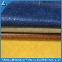 2015 Best sell type pattern design 100% synthetic pu leather for shoes
