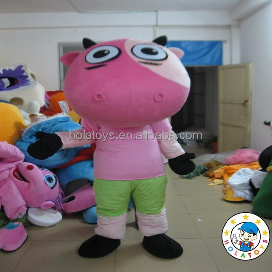ox costume/bull mascot/cow cartoon mascot cotume for sale