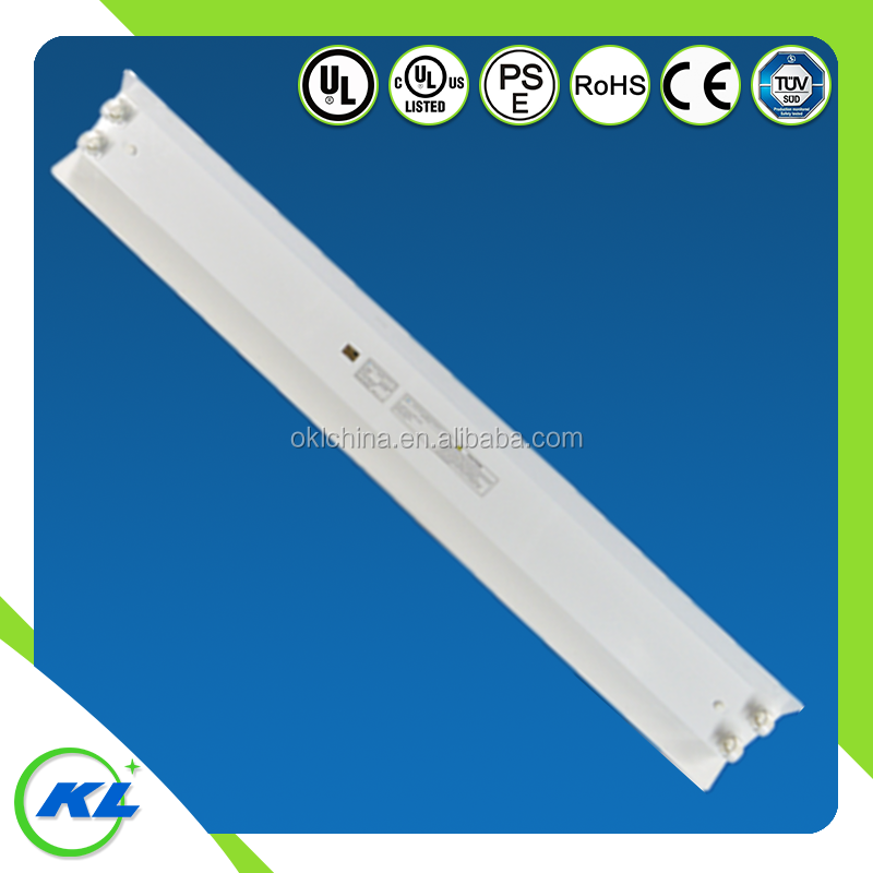 2016 T8 led shop light for double tube light fixture with G13 socket ,SPCC material 2*36w