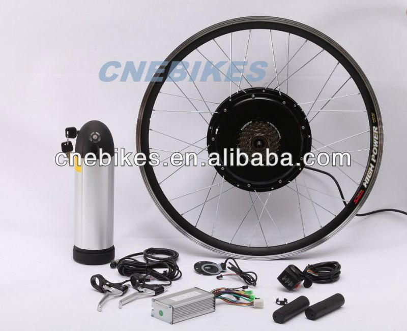 "Hot sale 24"" 26"" 28"" wheel rim with 36v 350w hub motor electric bike kit with pack battery"